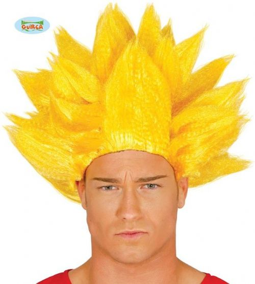 Adult Wig Dragon Ball Z Super Saiyan Blonde for Goku Gohan Fancy Dress Costume